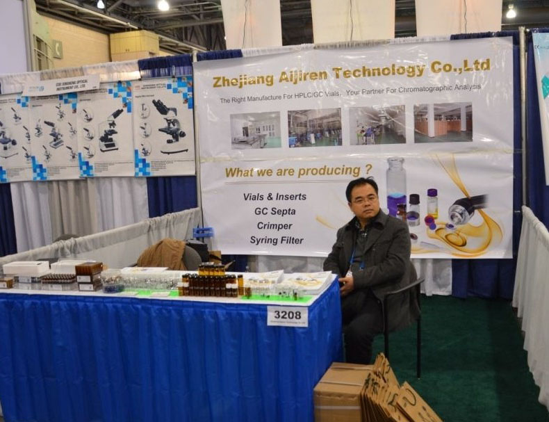 Autosampler Vial2014 Pittcon in Chicago